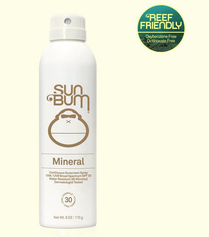 Sun Bum Mineral SPF 30 Spray 6 oz