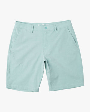 RVCA Balance Hybrid Mens Shorts - Nile Blue SURF WORLD