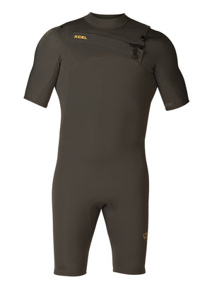 MEN'S COMP X 2MM S/S SPRING SP18 - Charcoal SURF WORLD