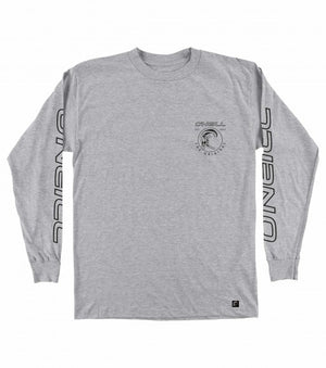 O'Neill Monumental Longlseeve Men's T Shirt - Heather Grey SURF WORLD