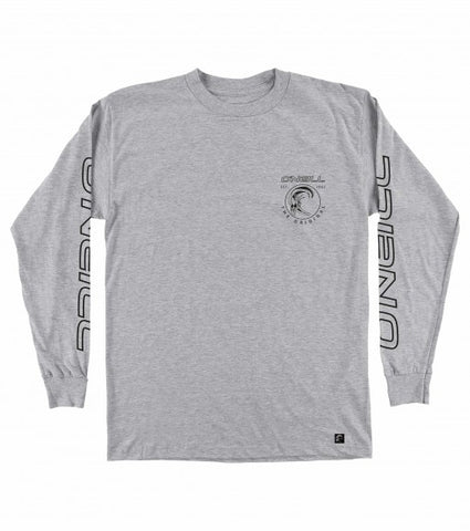 O'Neill Monumental Longlseeve Men's T Shirt - Heather Grey - SURF WORLD Fort Lauderdale Florida