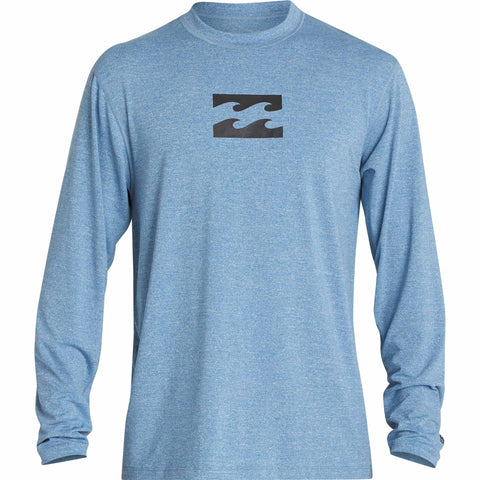 Billabong All Day Wave Loose Fit Long Sleeve Rashguard - AST COLORS