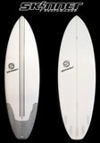 "Skinner Surfboards Mullet Run 5'10.5 x 20.75 "" x 2 1/2"" 34.20 Liters - SURF WORLD  - 2"