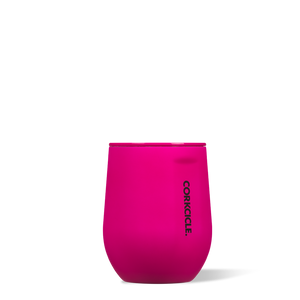 Corkcicle Neon Lights Stemless 12oz Cup - Neon Pink SURF WORLD