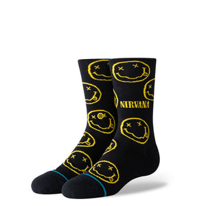 Stance Nirvana Nevermind Kids Socks - Black