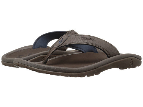Olukai Men's Ohana Sandals - Dark Wood - Dark Wood - SURF WORLD Florida
