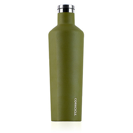 Corkcicle 25oz Olive Watermans Canteen 2025WO - SURF WORLD