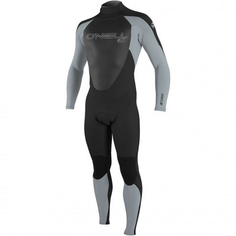 O'Neill Epic 3/2mm Fullsuit Wetsuit - Blk Cool Gry Blk