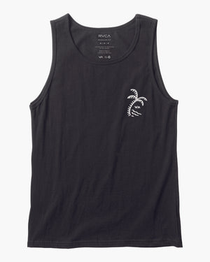RVCA Palmer Tank Mens Tank Top - Black