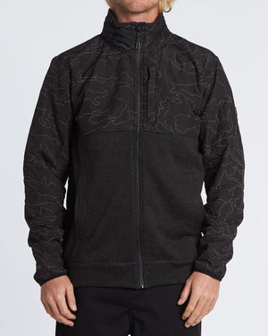 Billabong Boundary Zip Mens Jacket - Phantom