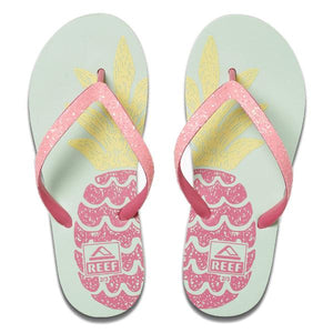 Reef Kids Stargazer Prints Sandals - Big Pineapple
