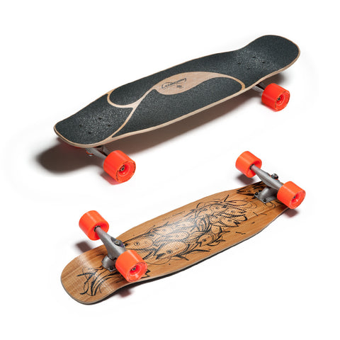 Loaded Poke Complete Skateboard With Carver CX Trucks