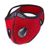 Red Cycling Mask