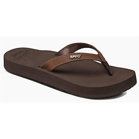 Reef Cushion Luna Women's Sandals Brown - SURF WORLD  - 1