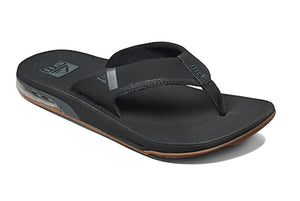 Reef Fanning Low Men's Sandals with bottle opener - Black - Black Tan SURF WORLD