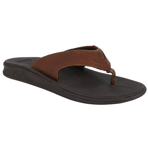 Reef Rover LE Brown Leather Upper Men's Sandals - SURF WORLD  - 1