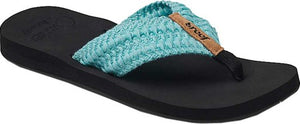 Reef Cushion Threads Women's Sandals - Aqua SURF WORLD