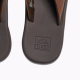 Reef Rover LE Brown Leather Upper Men's Sandals - SURF WORLD  - 3