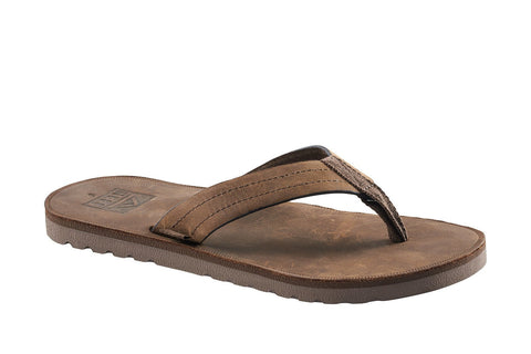 Reef Men's Voyage LE Dark Brown Sandal - DAB - SURF WORLD Florida