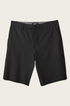 Oneill Reserve Heather Hybrid Mens Shorts - Black SURF WORLD