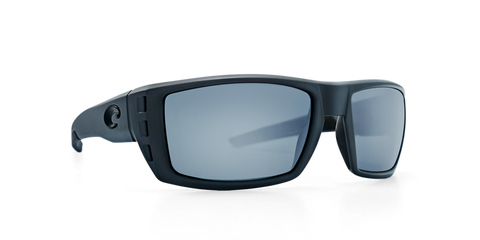 COSTA RAFAEL Matte Gray Ocearch GRAY 580P POLARIZED SUNGLASSES - SURF WORLD Fort Lauderdale Florida