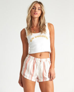 Billabong Road Trippin Womens Shorts - Peaches