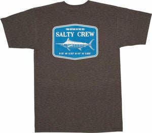 Salty Crew Stealth SS Mens T Shirt  - Charcoal Heather