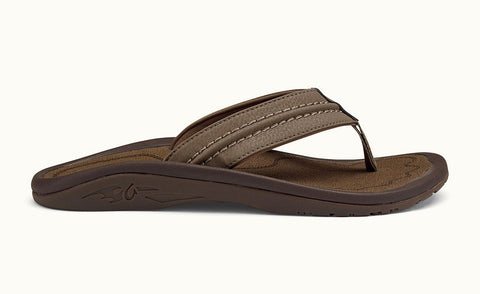 Olukai Hokua Men's Sandals Mustang / Mustang - SURF WORLD Fort Lauderdale Florida
