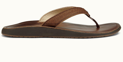 Olukai Women's Pua Bean Bean Leather Sandals - SURF WORLD Fort Lauderdale Florida