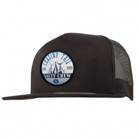 Salty Crew Tails Up Trucker Hat - Black - SURF WORLD Florida