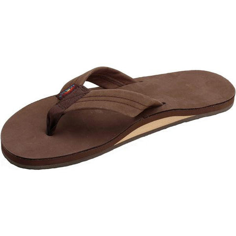 Rainbow Men's Sandals Expresso Premier Leather Single Layer Arch 301ALTS0EXPRM - SURF WORLD Florida