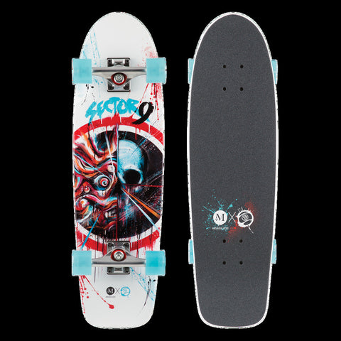 Sector 9 Shogun Complete Skateboard AF151C - SURF WORLD Florida