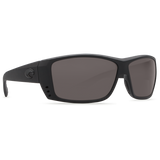COSTA CAT CAY BLACKOUT GRAY 580P POLARIZED SUNGLASSES - SURF WORLD Fort Lauderdale Florida