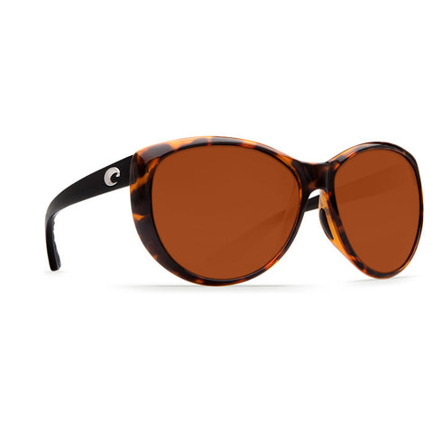 COSTA LA MAR RETRO TORTOISE BLACK COPPER 580P POLARIZED SUNGLASSES - SURF WORLD Fort Lauderdale Florida