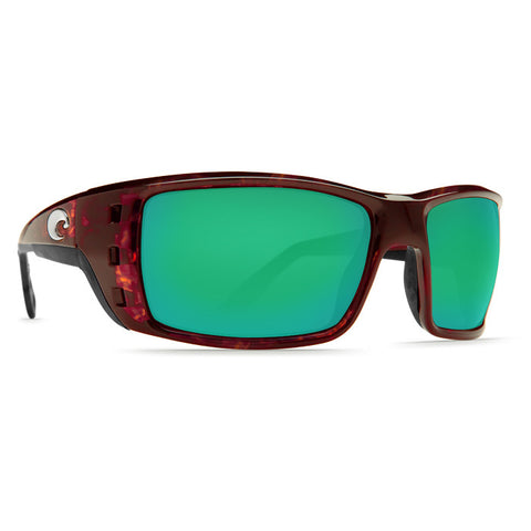 COSTA PERMIT TORTOISE GREEN MIRROR 580G POLARIZED SUNGLASSES - SURF WORLD Florida