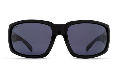 Vonzipper Palooka Polarized Sunglasses Black Gloss/Wild Vintage Grey SMPFEPAL-PBV - SURF WORLD  - 1