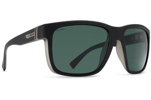 Vonzipper Maxis WildLife Polarized Sunglasses - Black Smoke Satin Grey