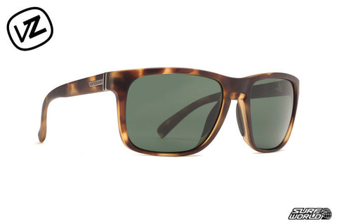 Vonzipper Lomax Satin Tortise Sunglasses SMSF1LOM - SURF WORLD Florida