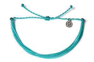 Pura Vida Bracelet - Solid Pacific Blue SURF WORLD