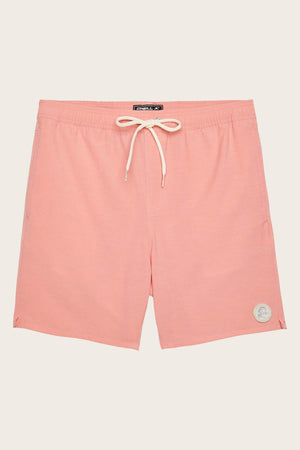 Oneill Solid Volley Short - Hot Coral