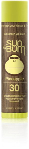 Sun Bum  Lip Balm Pineapple  SPF 30 SURF WORLD