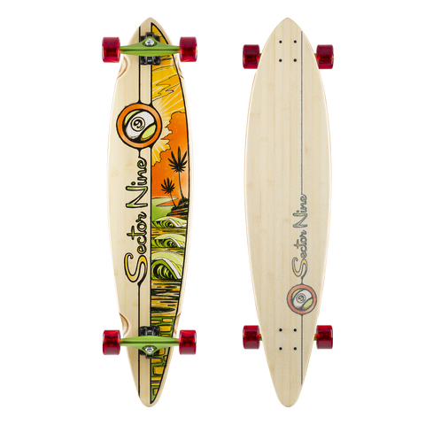 Sector 9 Sunburn Complete Longboard - SURF WORLD
