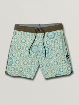 Volcom Sun Medallion Stoney Mens Boardshorts - Resin Blue