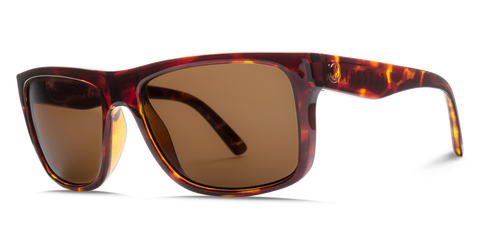 Electric Swingarm XL Matte Tortoise OHM Polarized Bronze Sunglasses EE15913943 - SURF WORLD