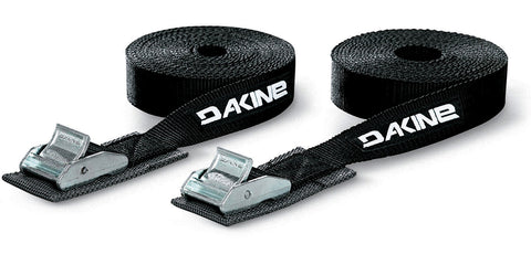 Dakine 12' Tie Down Basic Straps set of 2 - Black