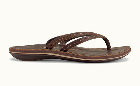 Olukai Women's U'I Dark Java/ Dark Java Sandals - SURF WORLD
