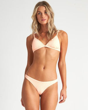 Billabong Under The Sun Tri Bikini Top - Neon Orange