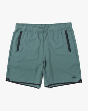 RVCA Yogger Stretch Shorts - Sage Green
