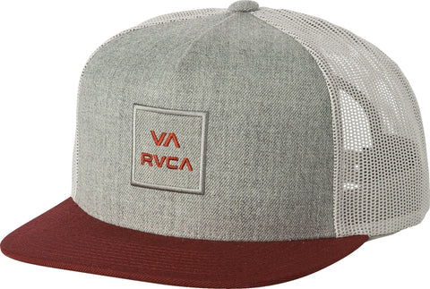 RVCA VA All The Way Trucker Hat III - Charcoal Heather Win