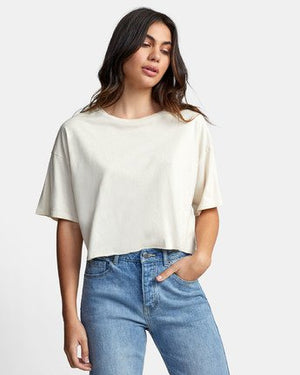 RVCA Pepper Crop Top - Oatmeal